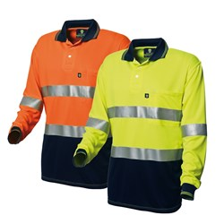 WS Workwear Koolmesh Hi-Vis Polo Shirt with Reflective Tape