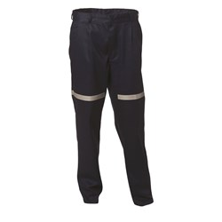 WS Workwear Mens Fire Retardant Trousers with Reflective Tape