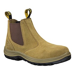 Oliver Elastic Sided Leather Safety Boot