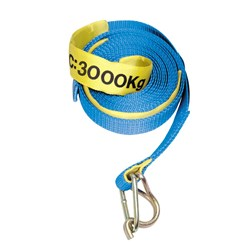 Polyester Replacement Straps  c/w Hook & Keeper