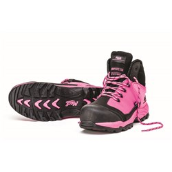 Mack McGrath Foundation Womens Lace-Up Safety Boots