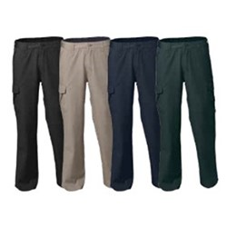 Worksense Mid Weight Cotton Canvas Cargo Trousers