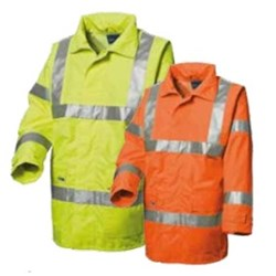 Assorted Chicago Poly Six Row Reflective Tape Jacket