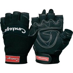 Contego Original Black Fingerless Glove
