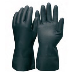 Frontier 75 Neoprene Black Glove