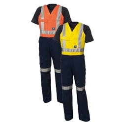 Cotton Heavy Weight Fire Retardant Action Back Overall