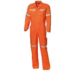 Worksense Fire Retardant Cotton Drill Coveralls with FR REF Tape