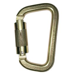 Steel Twist Lock Karabiner 41kN - 19mm Gate