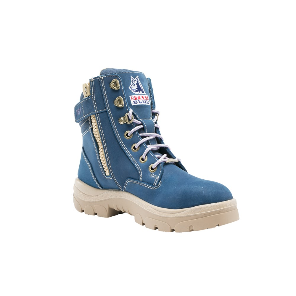 891abd56a59 Steel Blue Southern Cross Ladies Safety Boot with Nitrile Outsole ...