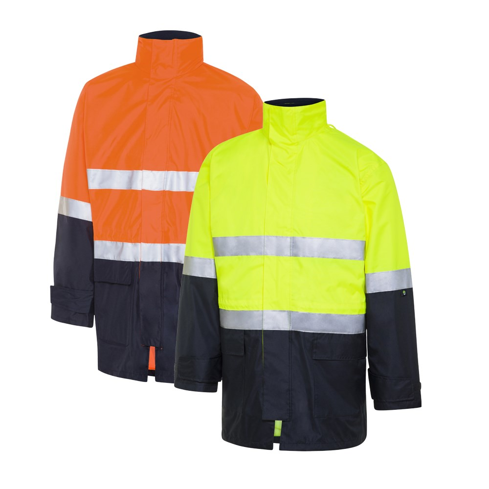 latest collection fashionable patterns pretty and colorful WS Workwear Hi-Vis 4-in-1 Waterproof Jacket