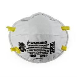 3M Cupped Particulate Respirator 8210 N95 P2