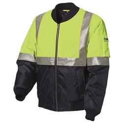 WS Workwear Waterproof Polyester Oxford Flying Jacket with Reflective Tape