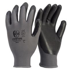 Frontier Glove-Foam Touch Blk Breathable Nitirle Microfoam Coat