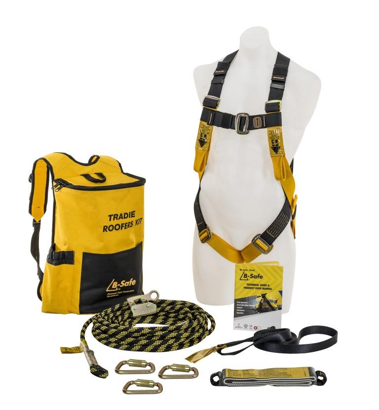 NEW B Safe Tradie/Roofers Kit