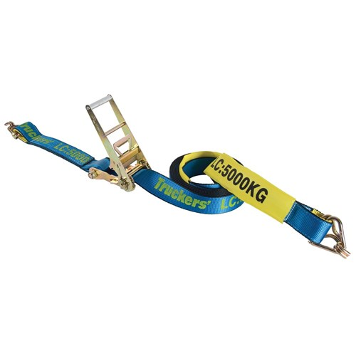 Hand Ratchet And Strap 75mm X 9m Lc 5000kg Bunzl Safety
