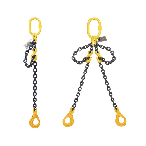 Beaver G80 Chain Sling With Shorteners And Safety Hooks