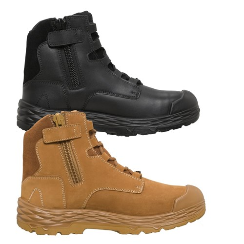 Mack Force Zip-Up Safety Boots