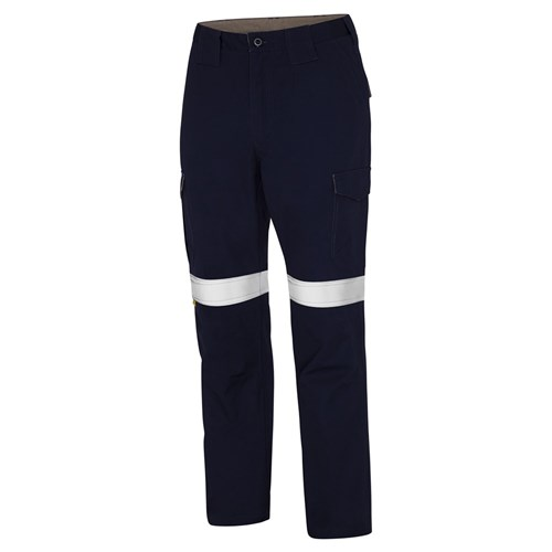 Ws Workwear Mens Cargo Pants With Reflective Tape Bunzl