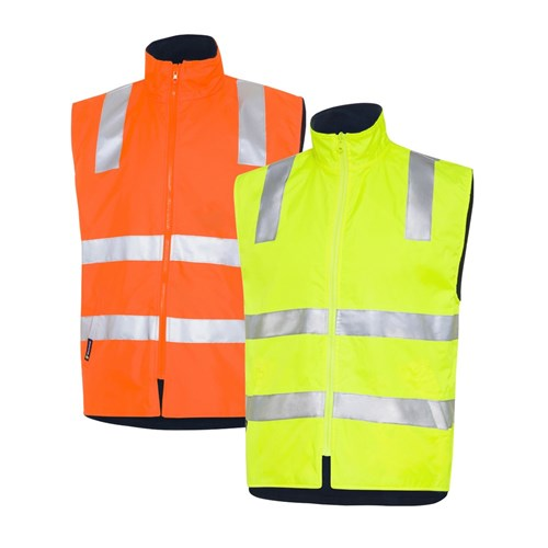 WS Workwear Hi-Vis 4-in-1 Waterproof Jacket