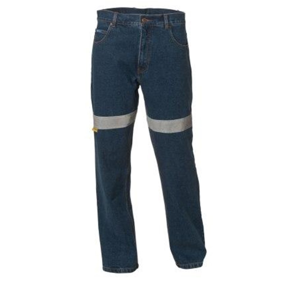 Ws Workwear Womens Stretch Jeans With Reflective Tape